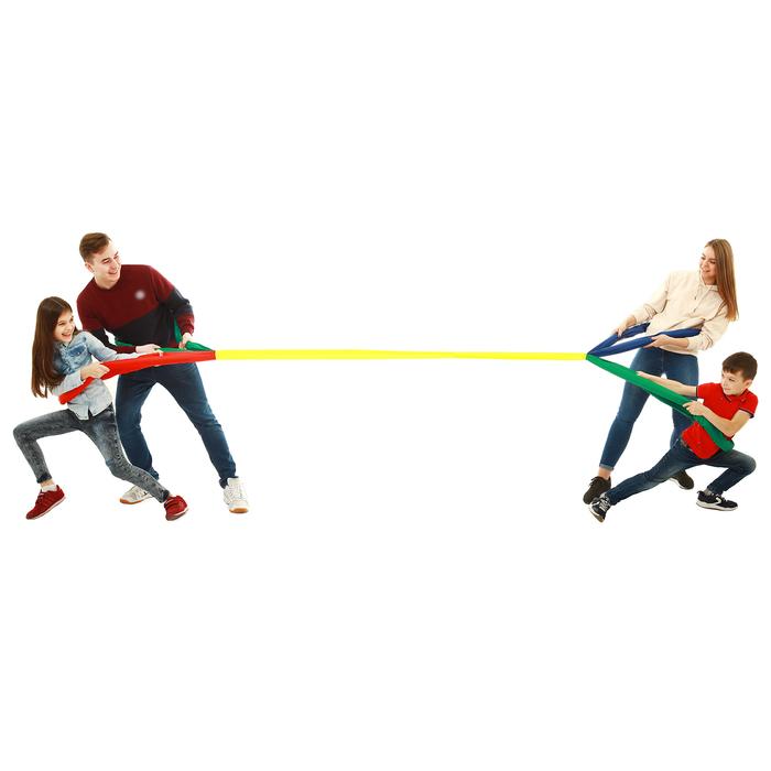 Петли для перетягивания, игра «Кто сильнее № 2», 2 м