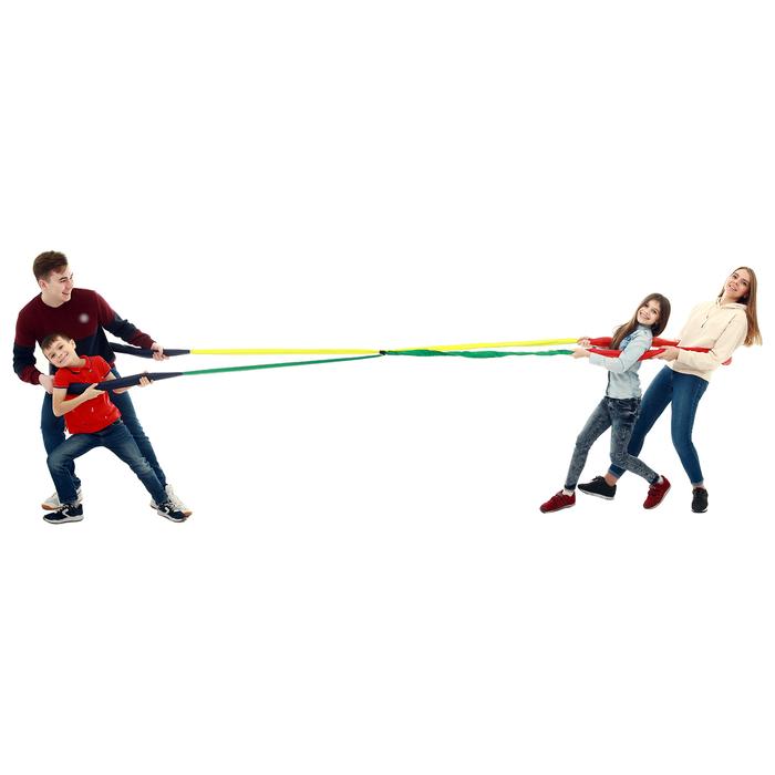 Петли для перетягивания, командная игра «Кто сильнее № 3», 2 м, цвет микс