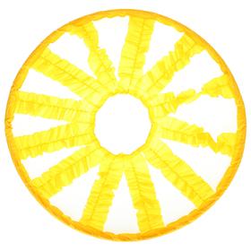 Кольцо препятствий эстафетное «Лучики», d 90 см, цвет жёлтый