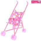 Stroller for dolls, plastic frame, MIXED