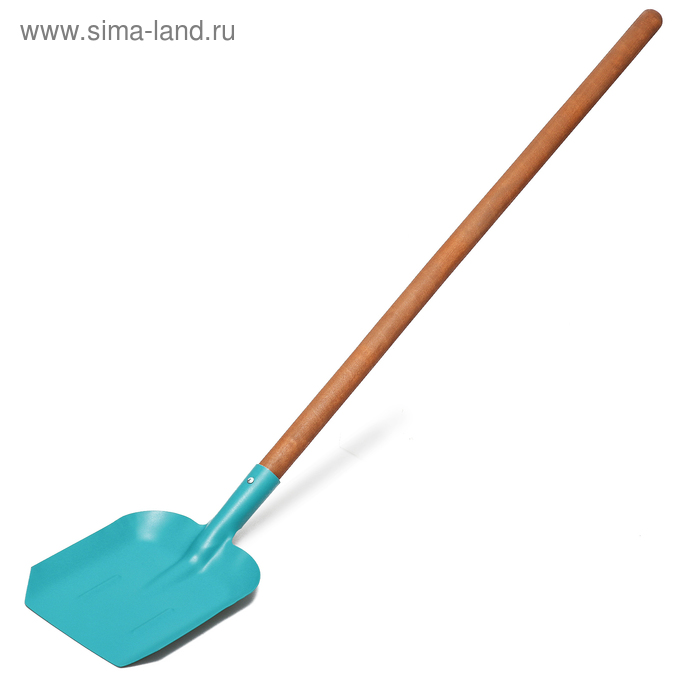 Лопата совковая, деревянный черенок, «Копанец-ЛСП Премиум»