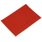 Футляр для карты, н/к, цвет красный V-41-535