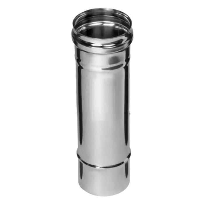 Дымоход Феррум нержавеющий (430/0,8 мм), ф150, L=0,25м, , шт