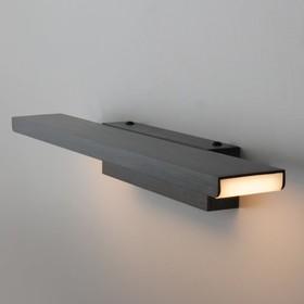 Светильник Sankara 16Вт LED черный 8,5x41x5см