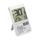 Термометр RST 02158, цифровой, в стиле iPhone , дом/улица, серый