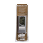 Термометр RST 02310, цифровой, гигрометр, дом/улица, часы , серебристый
