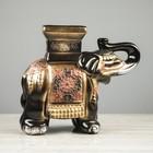 """Сувенир """"Слон"""" чёрный, 26 см - фото 814181"""