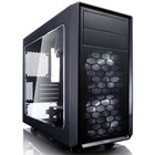 Корпус Fractal Design FOCUS G MINI Window, без БП, mATX, черный