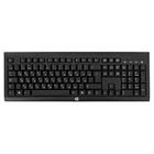 Клавиатура HP K2500, беспроводная, мембранная, 108 клавиш, USB, черная