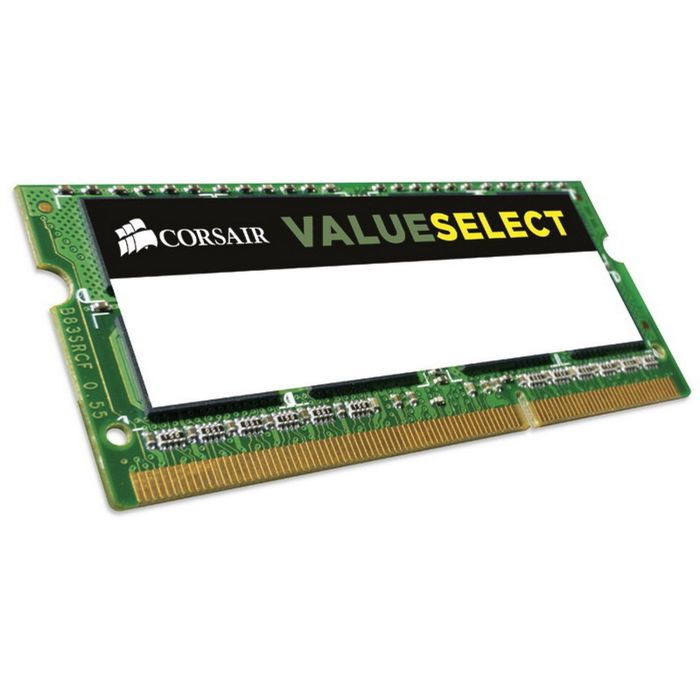 Память DDR3L 4Gb 1600MHz Corsair CMSO4GX3M1C1600C11 RTL PC3-12800 CL11 SO-DIMM 204-pin