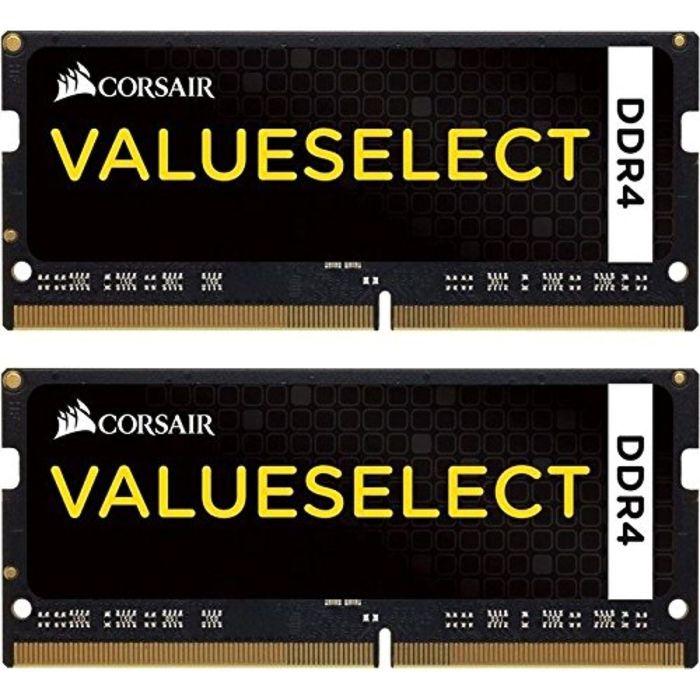 Память DDR4 2x8Gb 2133MHz Corsair CMSO16GX4M2A2133C15 RTL PC4-17000 CL15 SO-DIMM 260-pin