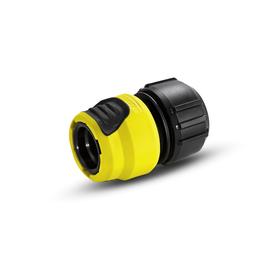 Универсальный коннектор с аквастопом, пластик, Karcher Plus