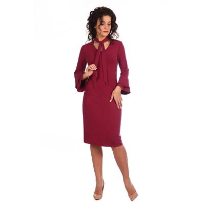 Платье женское Багира цвет марсала, р-р 44