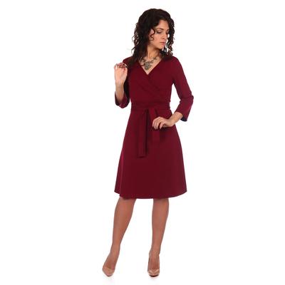 Платье женское Монро цвет бордовый, р-р 52