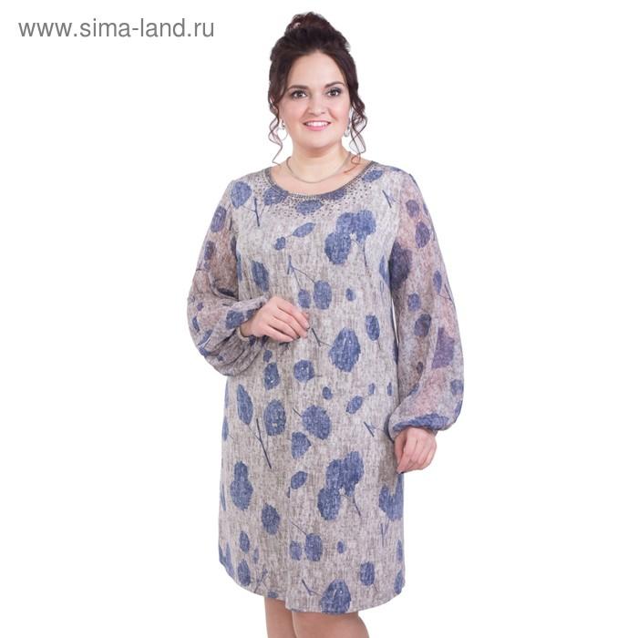 Платье женское П5-2864/7, размер 52