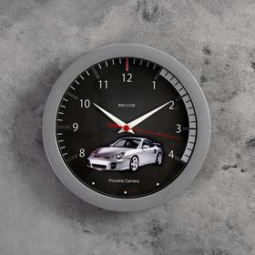 """Часы настенные круглые """"Машина"""", детские"""