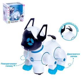 Игрушка-робот «Кошечка», работает от батареек, световые и звуковые эффекты, танцует, цвета МИКС
