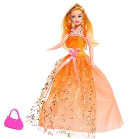 Кукла-модель «Милена» в пышном платье с аксессуарами, МИКС в Донецке