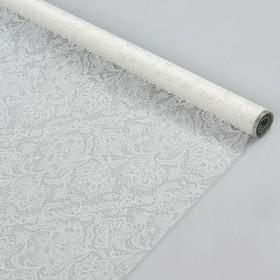 Пленка для цветов 'Ришелье', белый, 0,7 х 7 м Ош