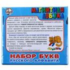 Набор букв русского алфавита, на магнитах - фото 106526134