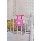 """Кармашек на детскую кроватку на лентах """"Наша малышка"""", 1 отделение - фото 105456823"""