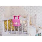 """Кармашек на детскую кроватку на лентах """"Наша малышка"""", 1 отделение - фото 105456819"""