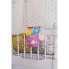 """Кармашек на детскую кроватку на лентах """"Наша малышка"""", 1 отделение - фото 105456824"""