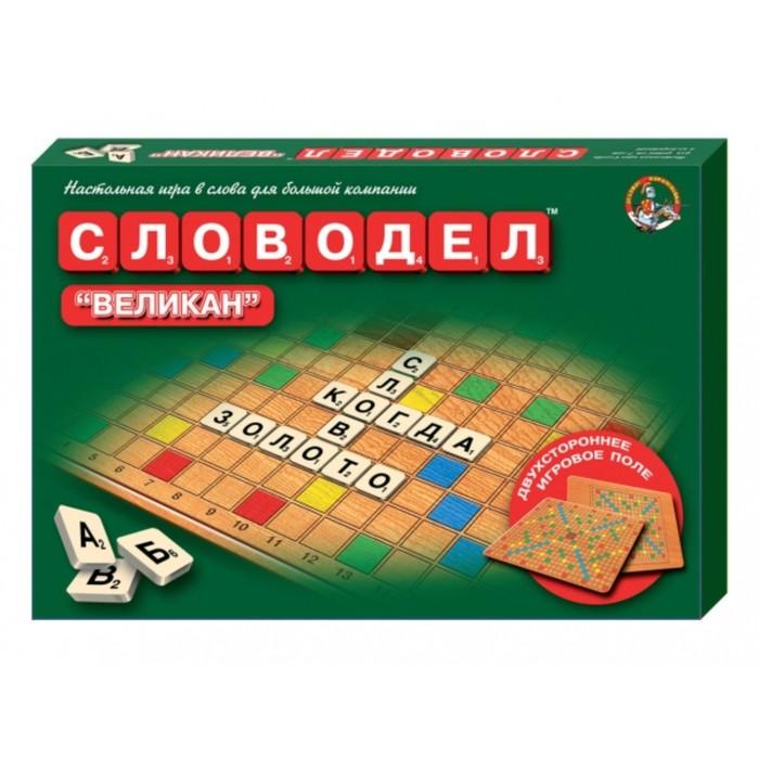 """Игра настольная """"Словодел Великан"""""""