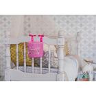"""Кармашек на детскую кроватку на лентах """"Любимая малышка"""", 1 отделение - фото 105456856"""