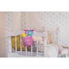 """Кармашек на детскую кроватку на лентах """"Любимая малышка"""", 1 отделение - фото 105456858"""