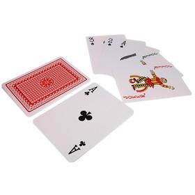 """Карты игральные бумажные """"Casino"""", А4, 29.5х21 см"""