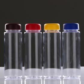 Бутылка для воды 420 мл питьевая, микс, 6х19 см Ош