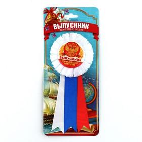 Орден - розетка «Выпускник начальной школы», d=6,5 см