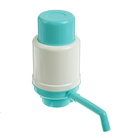 """Помпа для воды """"Дельфин"""" Эко, под бутыль от 12 до 19 л, бирюзовый"""