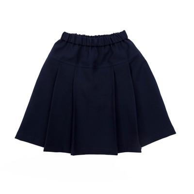Юбка для девочки , рост 122 см, цвет синий ШФ 0002