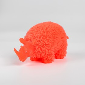 Ёжка «Носорог», резиновый, световой, цвета МИКС
