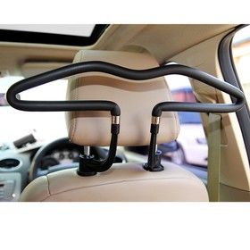 Hangers to mount on the headrest, PVC sheath