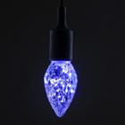 """Лампа светодиодная декоративная """"Шишка"""", G85, 3 Вт, E27, 130х85, фиолетовый"""