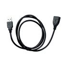 Кабель Partner (036271), USB-USB 2.0, удлинитель 1 м, черный