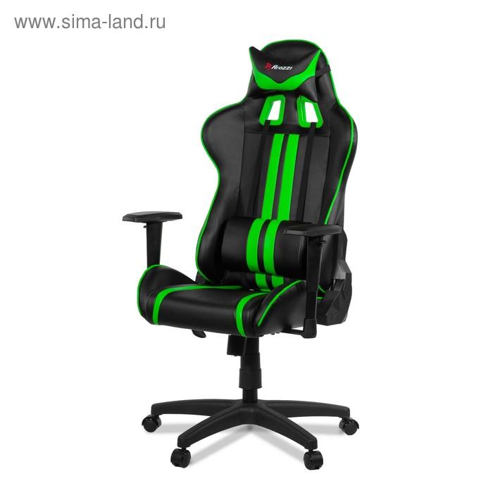Кресло для геймеров Arozzi Mezzo, зелёное