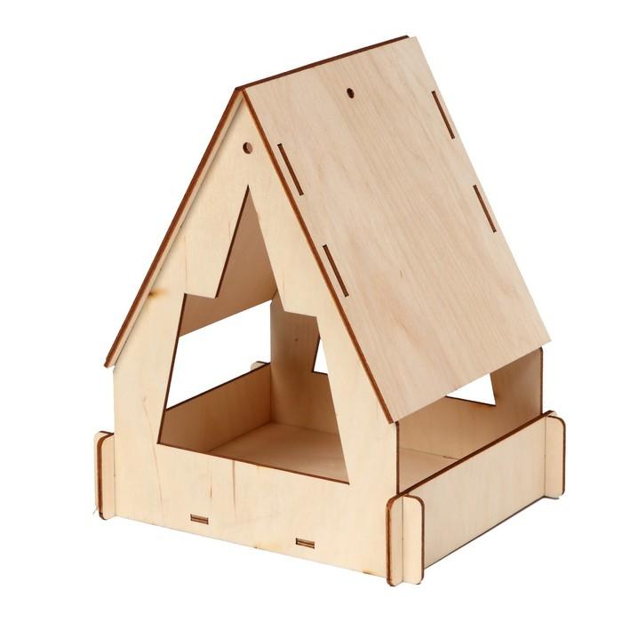 Кормушка для птиц «Юрта», 22 × 17 × 17 см, Greengo