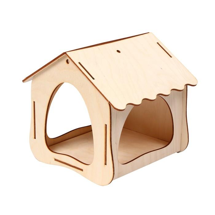 Кормушка для птиц, 19 × 18,5 × 18 см, Greengo