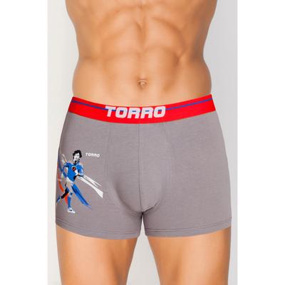 Трусы мужские боксеры TMX7032 цвет серый (grey), р-р 56 (XXXL)
