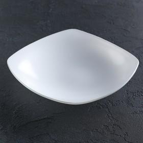 Тарелка 21,5х21,5 см, цвет белый