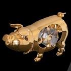 Сувенир «Свинка», 5×2×3 см, с кристаллами Сваровски