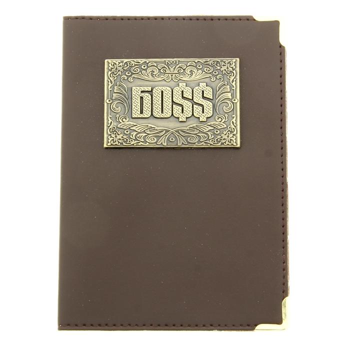 """Обложка для паспорта """"Боss"""""""