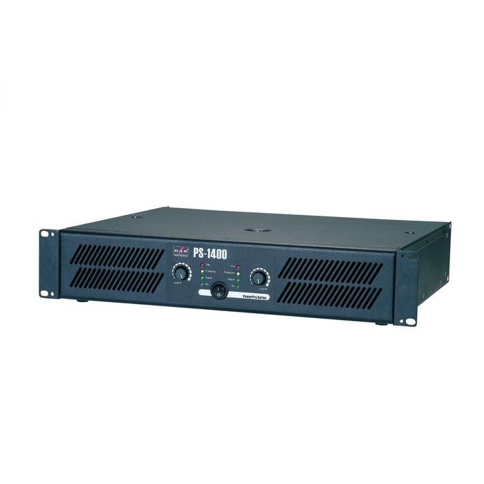 Усилитель мощности DAS AUDIO PS-1400  2x450 Вт/8 Ом, 2x700 Вт/4 Ом