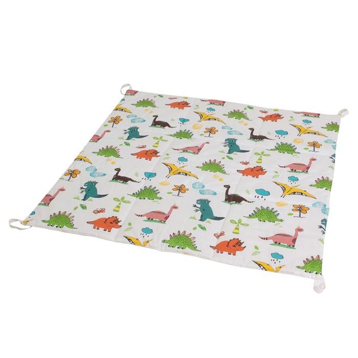 Игровой коврик для вигвама, хлопок, Dino
