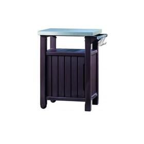 Стол для барбекю UNITY 93 L, 84 × 54 × 38,5 см, коричневый