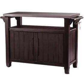 Стол для барбекю UNITY XL 183 L, 120 × 55 × 38 см, коричневый